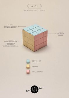 That's ADV baby! | Manifesto on Behance #paper #humor