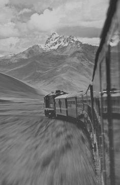 Train to mountains