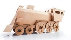 lokomotywa #toy #cardboard #locomotive