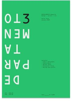 Network Osaka > Portfolio > Departamento #osaka #design #graphic #network #poster #typography