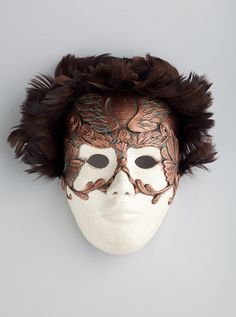HOBBY / Venetian masks on the Behance Network #venice #mask #ceramics #costume #venetian mask