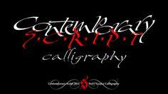 Contemporary Script Calligraphy