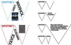Whitney Logo and Identity #whitney #logo #identity #branding