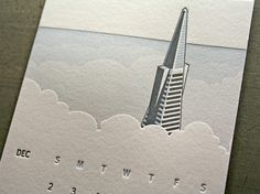 Pivot Interiors Calendar « Beast Pieces #embossed #calendar #california