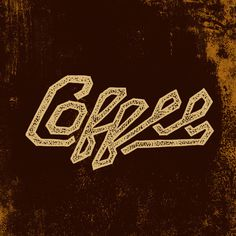 coffee #lettering #coffee #zac #hand #jacobson #typography