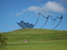 Suspended sculpture by Neil Dawson