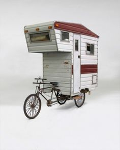swissmiss | Camper Bike #camper #bike