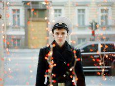 Sowjet Uniform by Waldemar Salesski #waldemar #sowjet #boy #soldier #male #window #russia #salesski #light