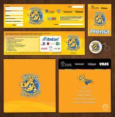 Tigres al Rescate 2011 on Behance #articles #2011 #branding #refresh #illustrator #design #uanl #program #tigres #illustration #brand #rescate #promo #donation #monterrey #logo #character