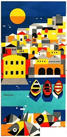 Dubrovnik #travel #brochure (1961)