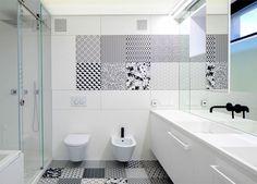 House in Black and White by Radina Gesheva -  #architecture, #house, #home, #decor, #interior, #homedecor, #bathroom