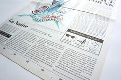 newspaper box layout detail