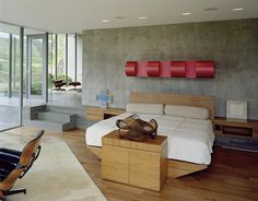Santa Fe House Designed for Living with a Contemporary Art Collection 12