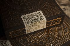 amazing playing cards sell by Theory 11 #branding #card #design #playing #product #gambling #gold