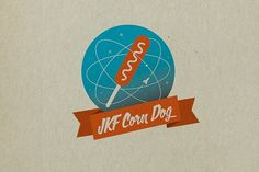 JKF Festival Food & Drinks on the Behance Network #design #graphic #jkf #food #illustration #corn #dog