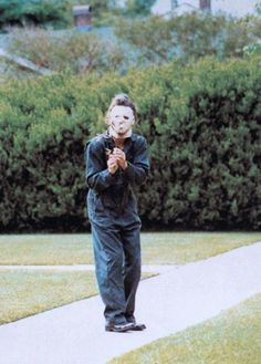 "YIMMY'S YAYOâ""¢ #creepy #halloween #photography #myers #michael"