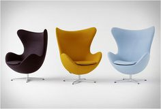 Industrial design(Egg chair by Arne Jacobsen) #jacobsen #egg #arne #chair #design