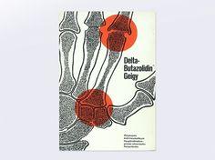 Display   Delta Butazolidina Geigy   Collection #cover #design #graphic #book