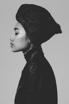BLACKFASHION BY JAVII #portrait #yuna