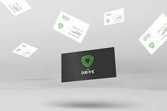 Drive App Business Card Design #businesscard #branding #design #houston