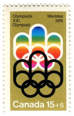 QBN - Stamps #olympics #stamp #canada #montreal