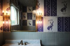 featured-image #interior #design #bathroom #hinkleys #wallpaper