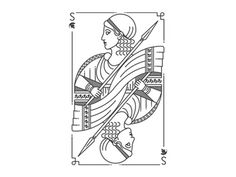 Spartan Poker Queen by Maria Umiewska