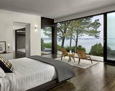 bedroom, Teaberry project, Cary Bernstein Architect