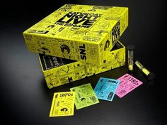 Saturday Night Live The Game 3 #illustration #packaging #for #saturday #night #live #the game