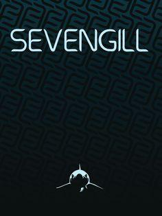 Sevengill Typeface Cover - Zach Johnson Design