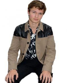 Ansel Elgort Film Jacket