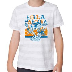 Lollapalooza Festival t-shirt #design #illustration #festival #shirts #typograph #shirt design