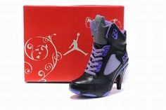 Nike Air Jordan V 5 Heels Black/Purple