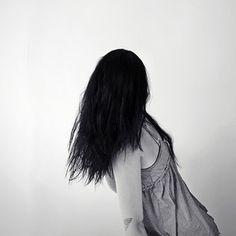 'Undurchschaubar' ein Foto von 'Flügelfrei' #hair #abstract #black #girl
