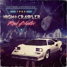 Nightcrawler by Vestron Corporation #retro #car #80s
