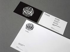 identity_system on the Behance Network #white #branding #stationary #black #minimal #and