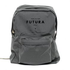 Backpack Futura 1927 Classic School Style by mediumcontrol #typography #type #product #futura #humor #bags #backpack