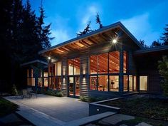 Fresh Design Interior | Middle of the Forest of Wooden Houses Port Townsend Residence