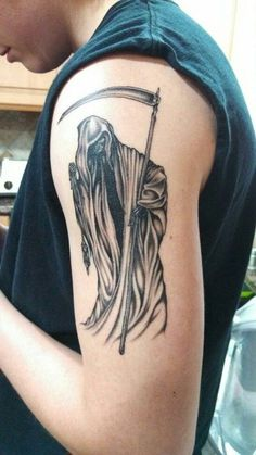 50 Grim Reaper Tattoo Designs