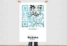Vulgaria QR Code Poster - www.timothybarlow.com #qr #movie #nurse #code #teaser #poster #film #vulgaria