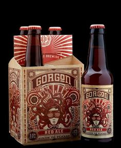 ballistic4.jpg (400×490) #packaging #beer #label #bottle