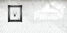PUMA wallpaper designed by www.onad.dk #interior #tapet #puma #showroom #grey