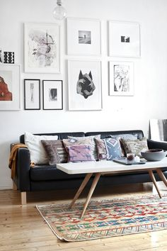 Living room #furniture #interior #mid #century