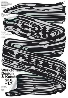 hslu werkschau 2012 poster by feixen #brush