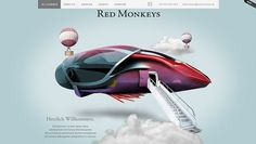 Red Monkey #vnwebdesigner