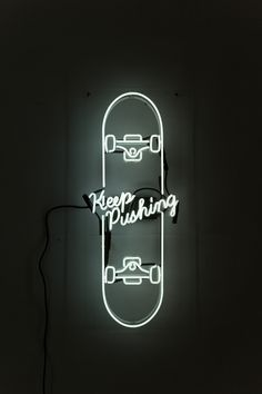 David B Anthony, Keep Pushing. #skate