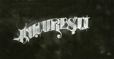 Andrei D. Robu » Lettering & Type