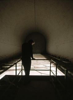 Kendall Buster Subterrain (White) #tunnel #man #light #intallation