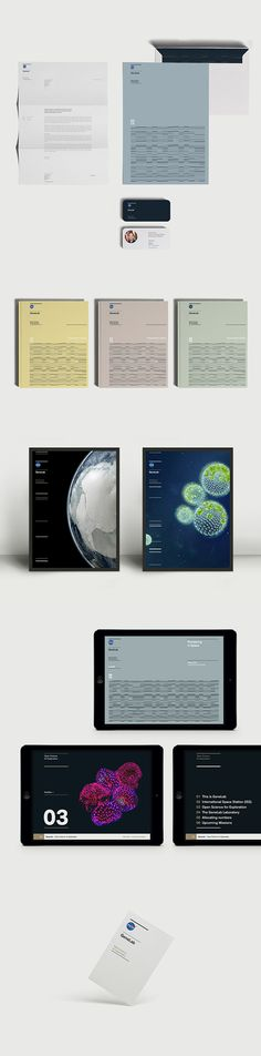 Nasa GeneLab on Behance #brand