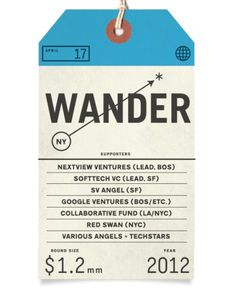 Wander Blog #note #tag #typography